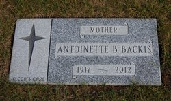 Antoinette Barbara Backis