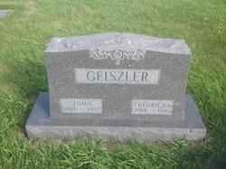 Fredricka <i>Walz</i> Geiszler