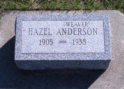 Hazel Mae <i>Weaver</i> Anderson