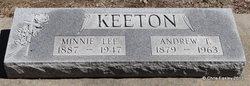 Minnie Lee <i>Sims</i> Keeton