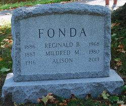 Reginald Benedict Fonda