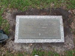 PFC John Tracy Hussey, Jr
