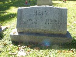 Esther <i>Brown</i> Heim