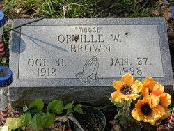 Orville W Moose Brown