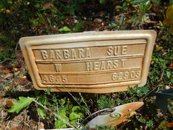 Barbara Sue <i>W</i> Hearst