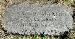 Chris M Martin