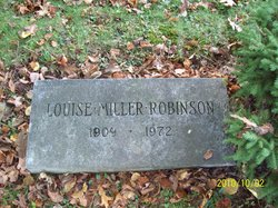 Louise <i>Miller</i> Robinson