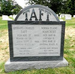 Norma Elaine <i>Marchert</i> Taft