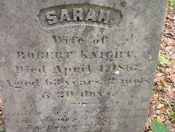 Sarah <i>King</i> Knight