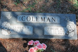 Flossie A. <i>McGee</i> Coleman