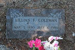 Lillian F. Coleman