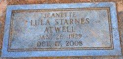 Lula Mae Jeanette <i>Starnes</i> Atwell