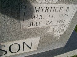 Myrtice <i>Banks</i> Peterson