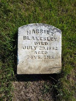 Harriet <i>Carter</i> Blakesley