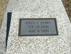 Edith <i>Lynch</i> Adams