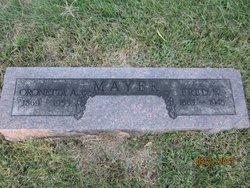 Oronetta Ann Nettie <i>Allbaugh</i> Mayer