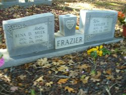 Rena D. <i>Meek</i> Frazier