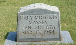 Mary Modenia Mollie Massey