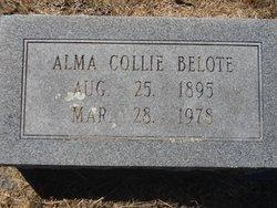 Alma Jane <i>Collie</i> Belote