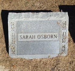 Mrs Sarah Susan <i>Poe</i> Osborn