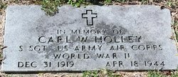 SSgt Carl W Holley