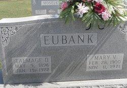 Mary V <i>Moseley</i> Eubank
