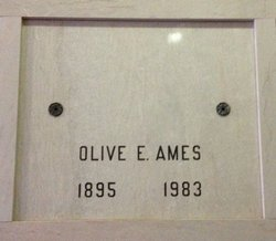 Olive E <i>Leple</i> Ames
