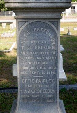Catherine Katie <i>Patterson</i> Breeden
