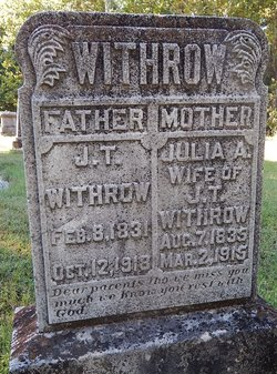 Julia Ann <i>Barnard</i> Withrow