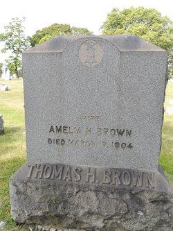 Amelia H Brown