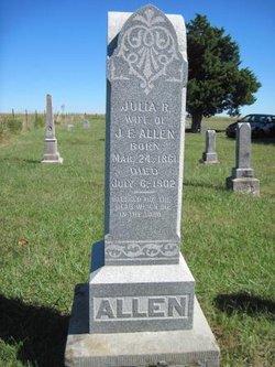 Julia Rebecca <i>O'Bannon</i> Allen