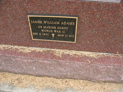 James W Jim Adams