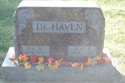 Iva M <i>Cole</i> DeHaven
