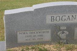 Nora <i>Duckworth</i> Bogan