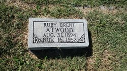 Sarah Ruby <i>Brent</i> Atwood