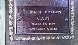Robert Brown Bob Cain