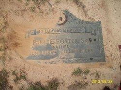 Paul Eugene Foster, Sr
