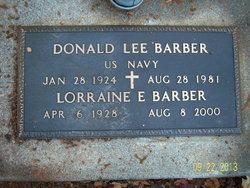 Donald Lee Barber