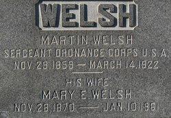 Sgt Martin Welsh