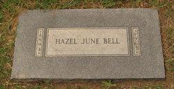 Hazel June <i>Robbins</i> Bell