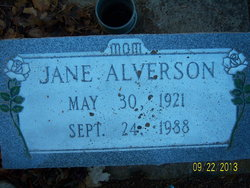 Jane Alverson