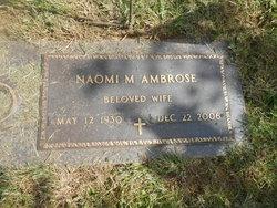 Naomi M <i>Raub</i> Ambrose