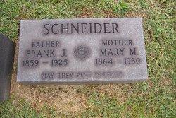 Mary A. <i>Lippert</i> Schneider