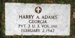 Harry A Adams