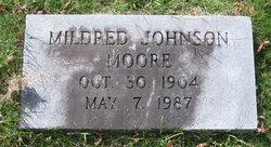Mildred <i>Johnson</i> Moore