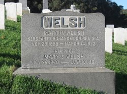 Mary E Welsh