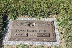 Dora Elaine Banks