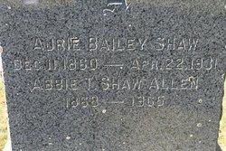 Mrs Abbie Thomas <i>Shaw</i> Allen