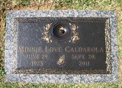 Minnie Love <i>Wheeler</i> Caldarola