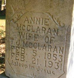Annie McClaran